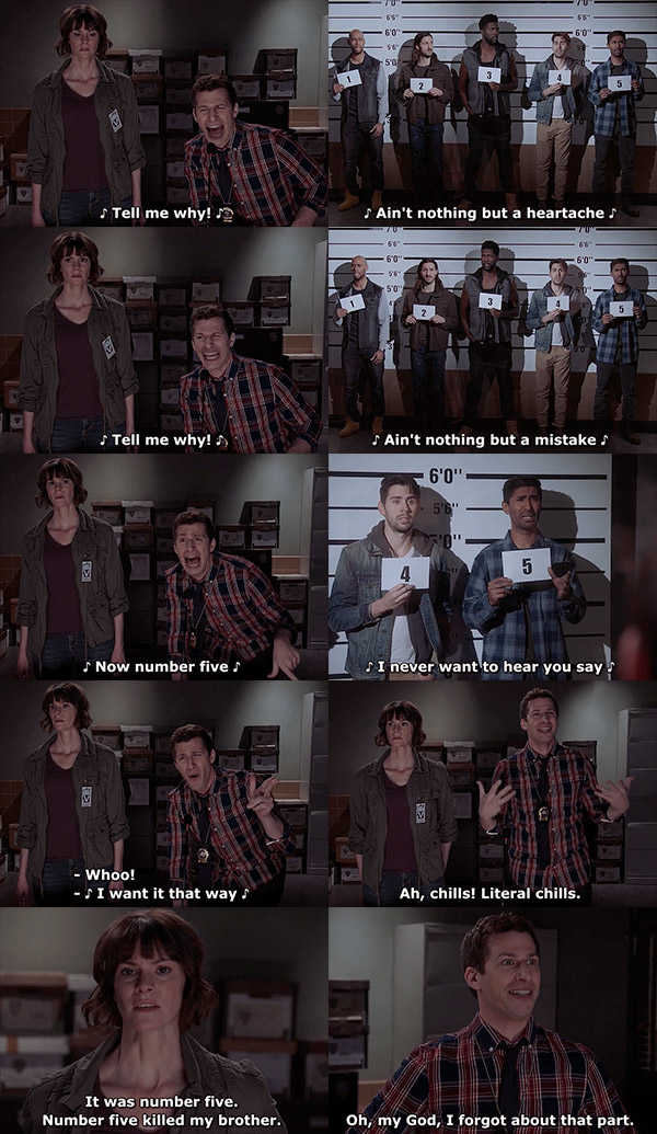 I decided to start watching this show after seeing this scene on twitter a few months ago... it was the best decision I could have possibly made!!! 😂😂😂🤣🤣🤣🔝