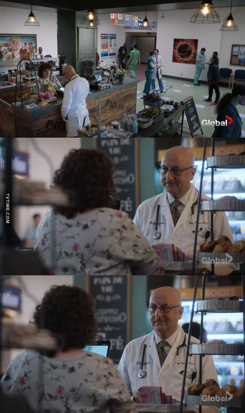 Reminds me of the scene from The Good Doctor with Dr Glassman and the barista