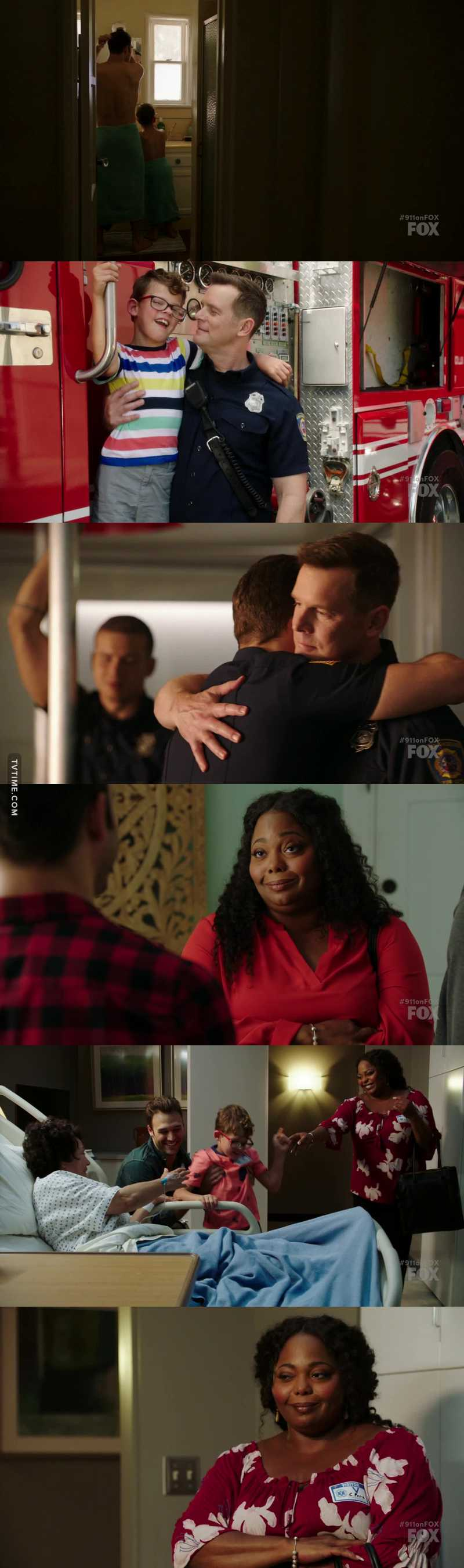 This episode was amazing. 😍 Eddie and his son, Christopher and the team. So cute 🤗 My girl is back! Carla, I love you! ❤