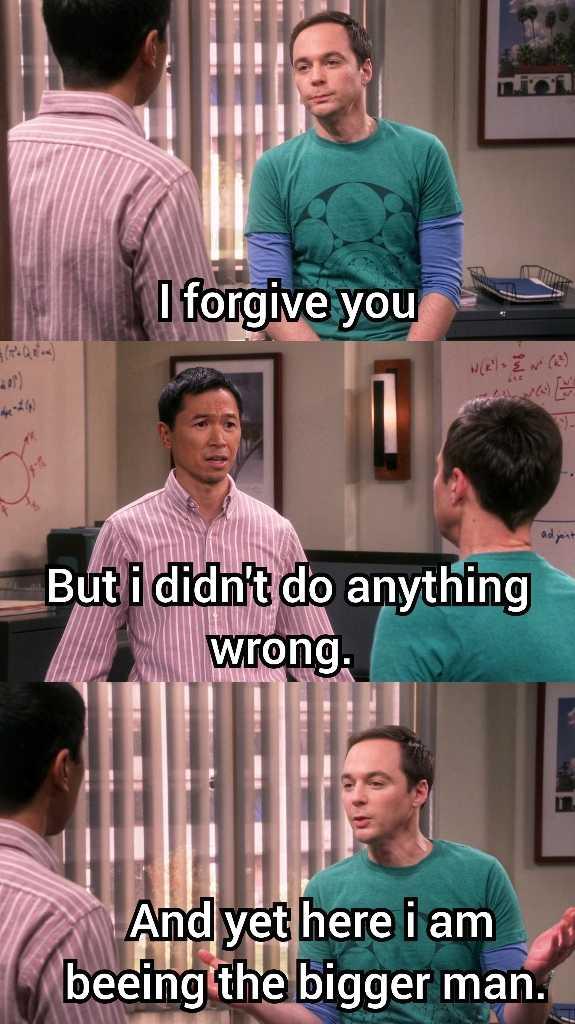 Classic Sheldon