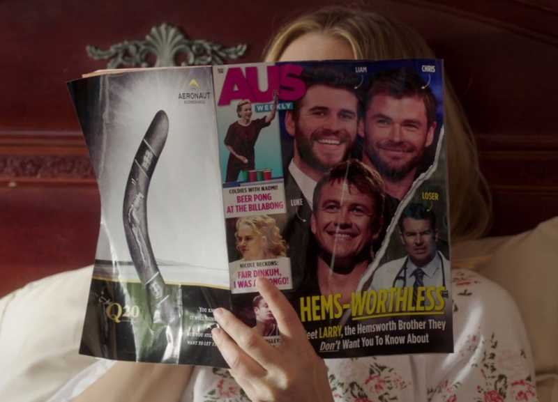 """I never expect anyone to remember me. I have one of those forgettable faces"" ""Mummy was right. I'll always be the chubby one"" Oh Larry 😂😂 I loved all those Hemsworth's references.  Also, Larry was on the cover of this magazine 😂😂"