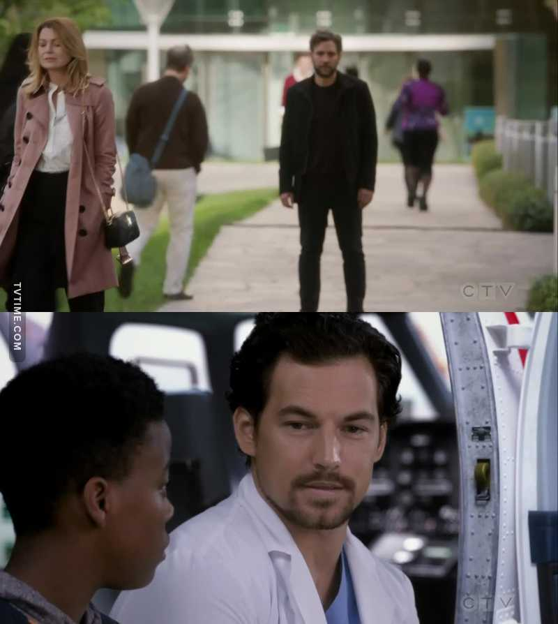 """Can we talk about DeLuca having a scene with a kid (to show how nice and considerate he is with them) right after Ted says """"the One thing"""" about single moms and how desperate they are because of their children? DeLuca and Meredith are totally happening and I never thought I'd like the idea but I really do!!"""