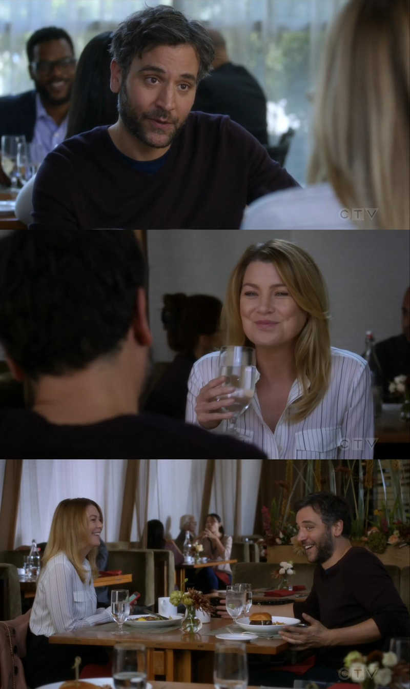 And that, kids, is how I met Dr. Meredith Grey.