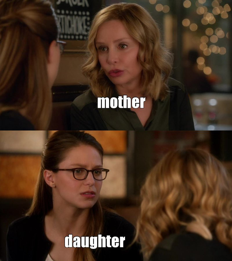 Cat and Kara have a wonderful mother daughter relationship. they really care about each other. hope they bond a lot more in the rest of the season.