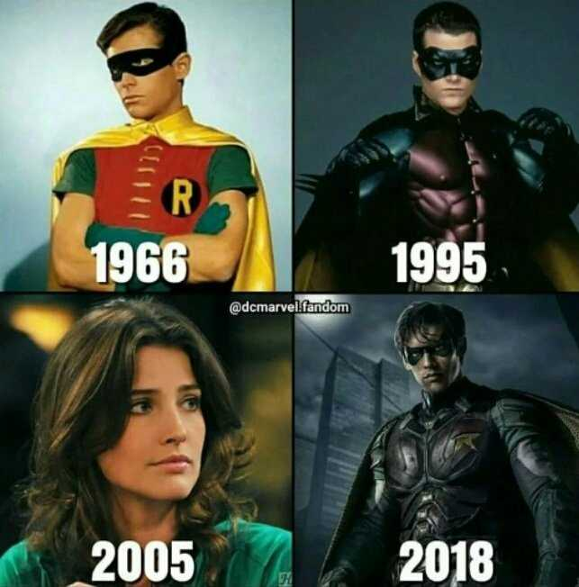 The Evolution of Robin! 😂