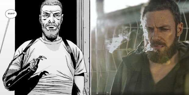 It's official, Aaron is the official comic book Rick Grimes