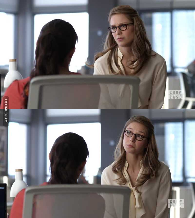 It's so satisfying to see Kara turn into this amazing and wise person she is now as compared to what she was at the beginning of the show... I used to miss cat grant a lot. But it's gud to see that in a way she is still part of the show.
