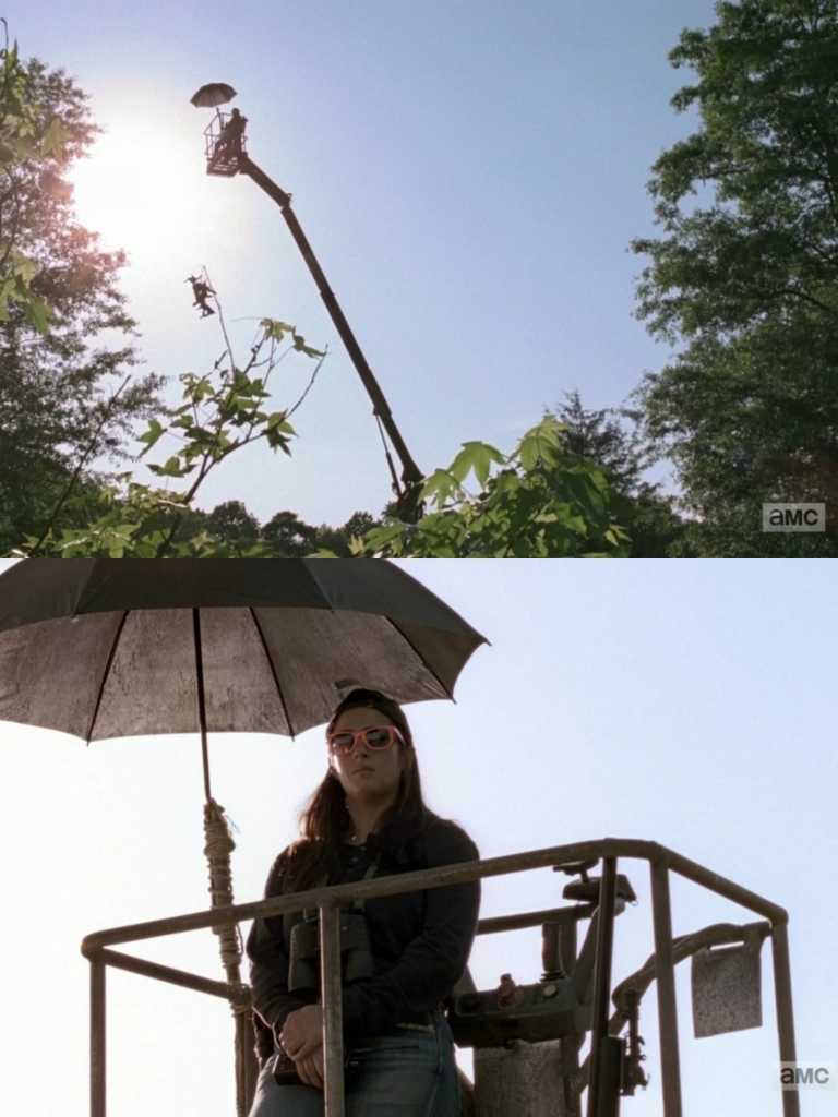 Tara would be definitely my type of mood if I were in the apocalypse.