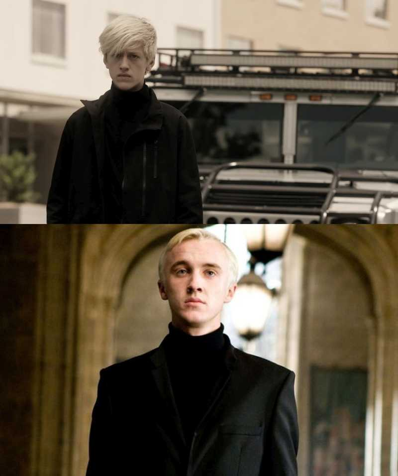 He's becoming in Draco Malfoy