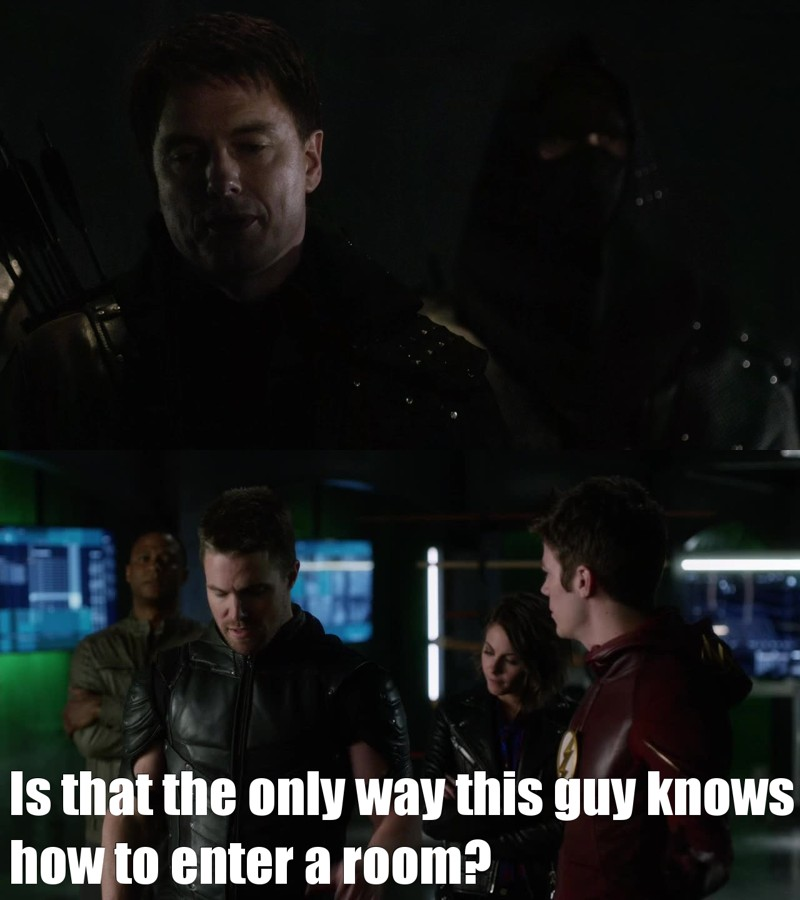 SO MANY FUNNY MOMEMTS. This is my favorite episode of The Flash - EVER.