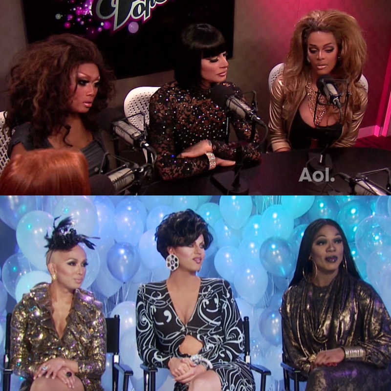 I think they bring back these three queens cos they're the most similar to Juju, Raven and Tyra. Probably Rebecca was more alike Tyra but you know Bebe is the winner of the first season so she have to come back. Anyway I hoped there was even Nina.. I'm so sad she's not back 😭