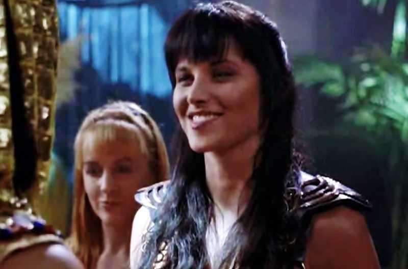 Minha cara, quando a Cleópatra estava flertando a Xena.