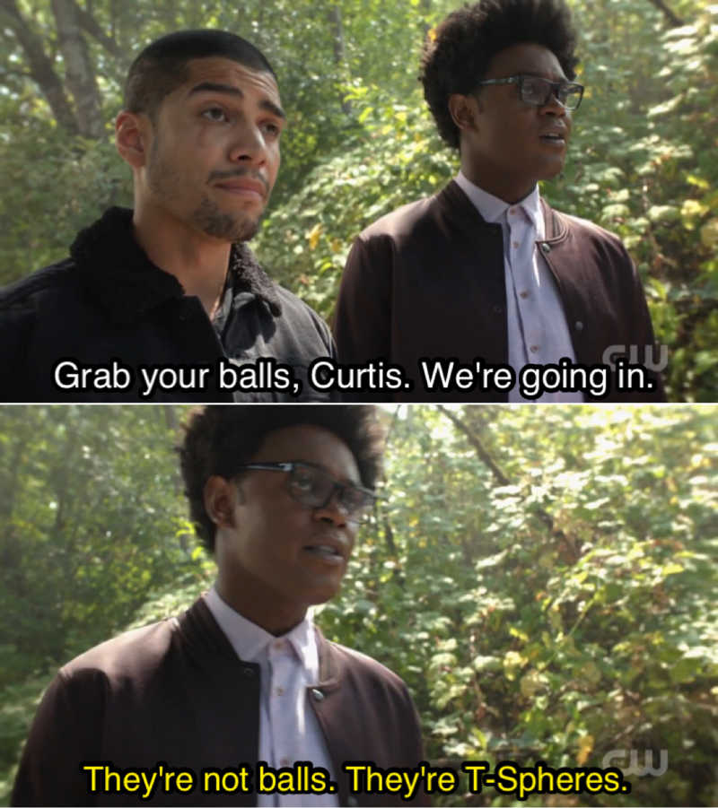 Curtis' balls are back 🤣🤣