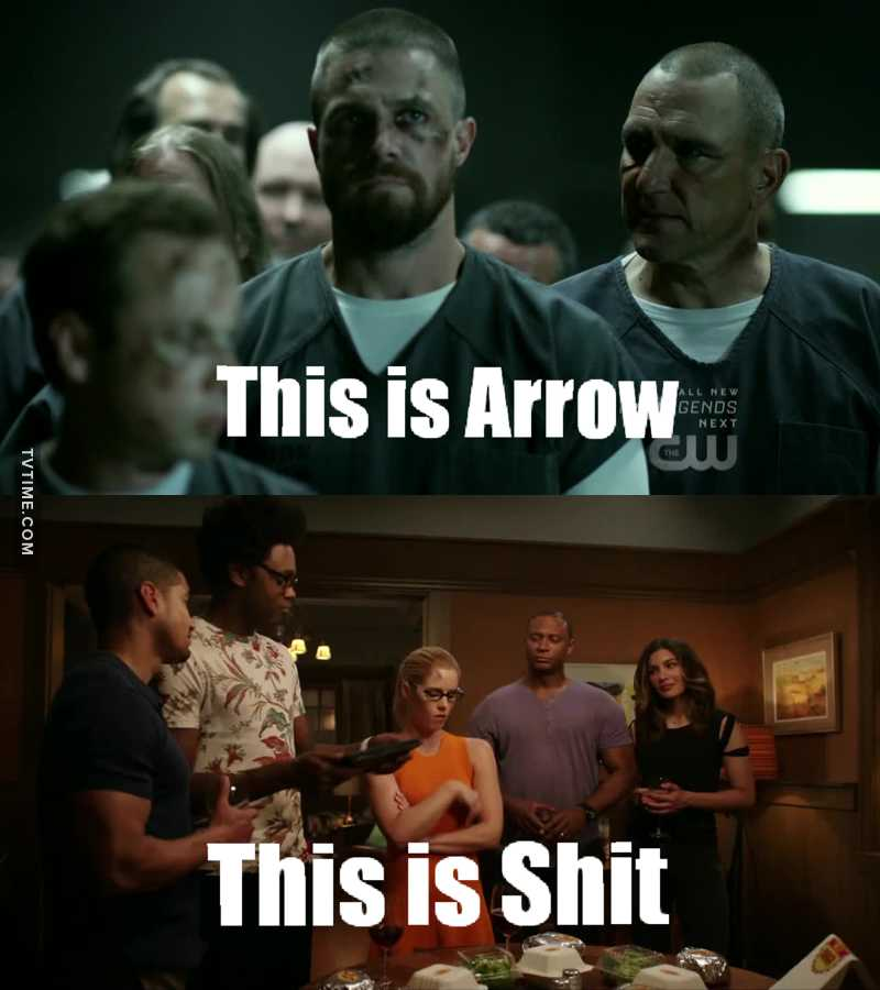 The prison and flash forwards are the only good scenes.