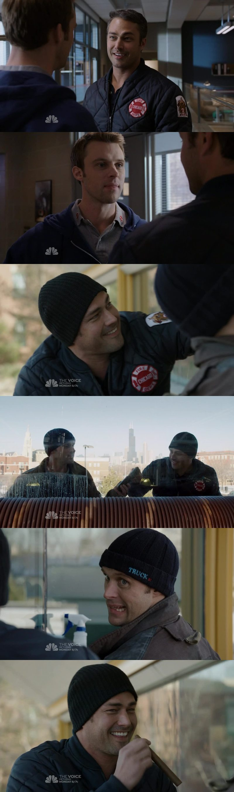 Ahahhaha this brotherhood between Casey and Severide is awesome!