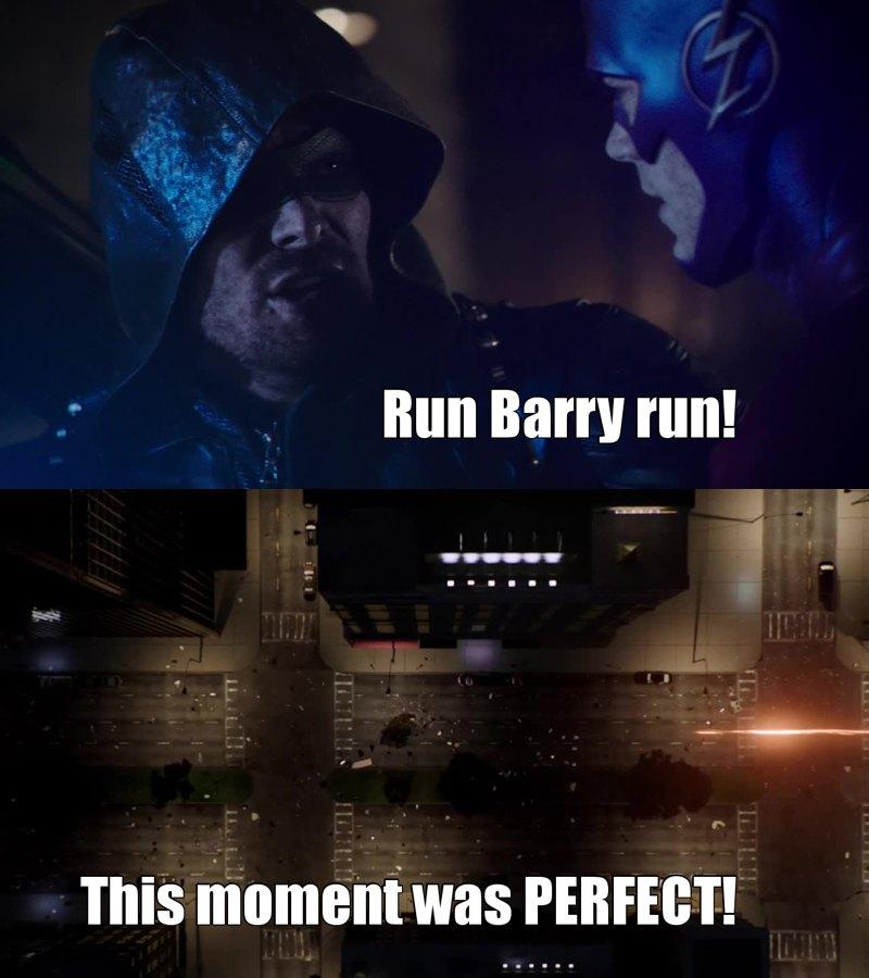 Run Barry! ⚡⚡⚡