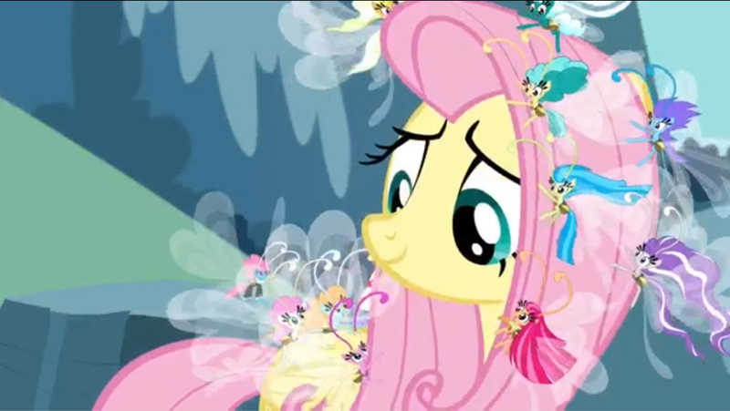 i love the message behind this ! , look how cute they look when they hanging on fluttershy mane , i wish i could have a breezy to be my friend