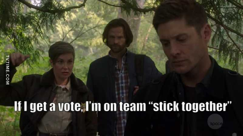 I just can't get enough of Jody. She always finds the right words for Sam and Dean.  I'm really waiting for the spin-off.