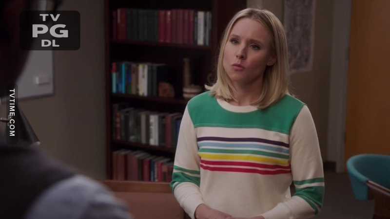 Eleanor wearing a rainbow sweater and preaching about bi visibility - I stan a queer icon🏳️🌈