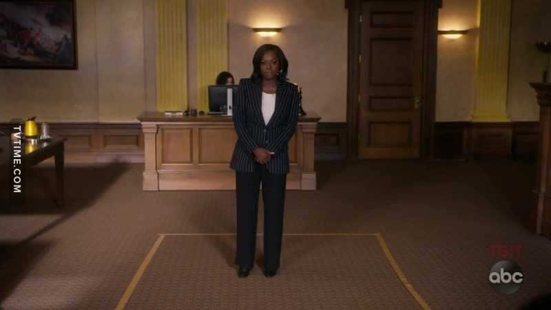Yo, when Annalise stood there in silence for an entire minute, I FELT THAT