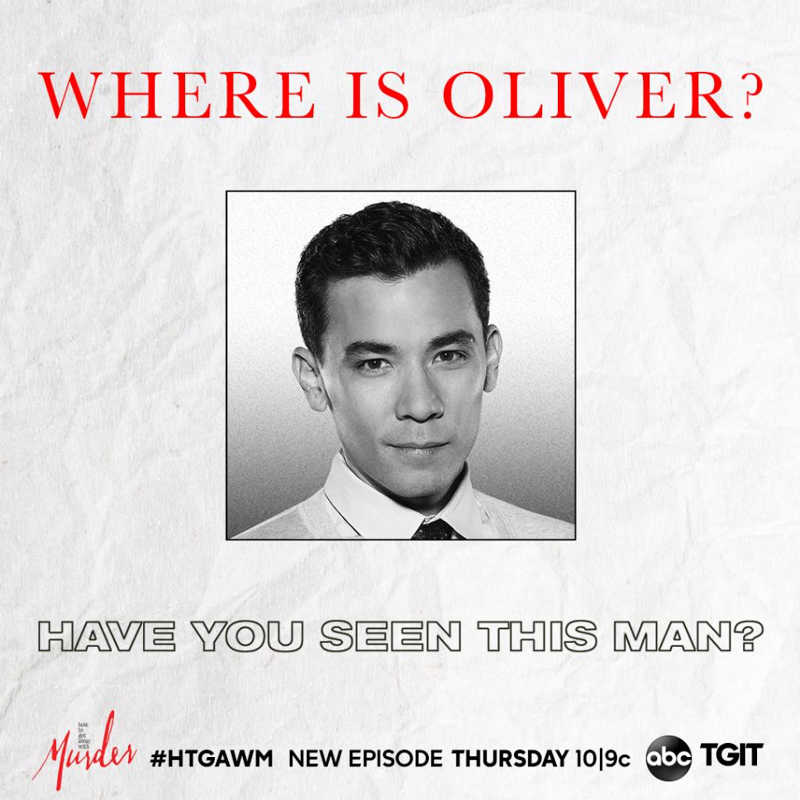 WHERE IS OLIVER?????