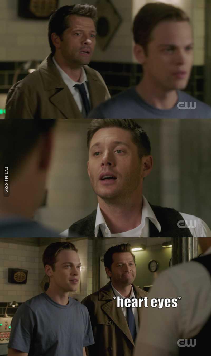 Cas: [sees Dean] 💝✨💕💖💘💗💓💞💝💕💕💓💖💘💗💓💞💝💕💘💓💖❣️💝💞💖✨💞🌈✨💞