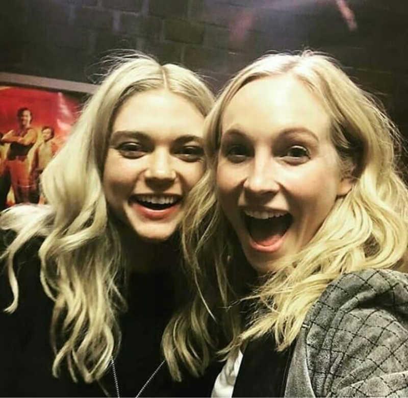 Caroline and Lizzie 😍