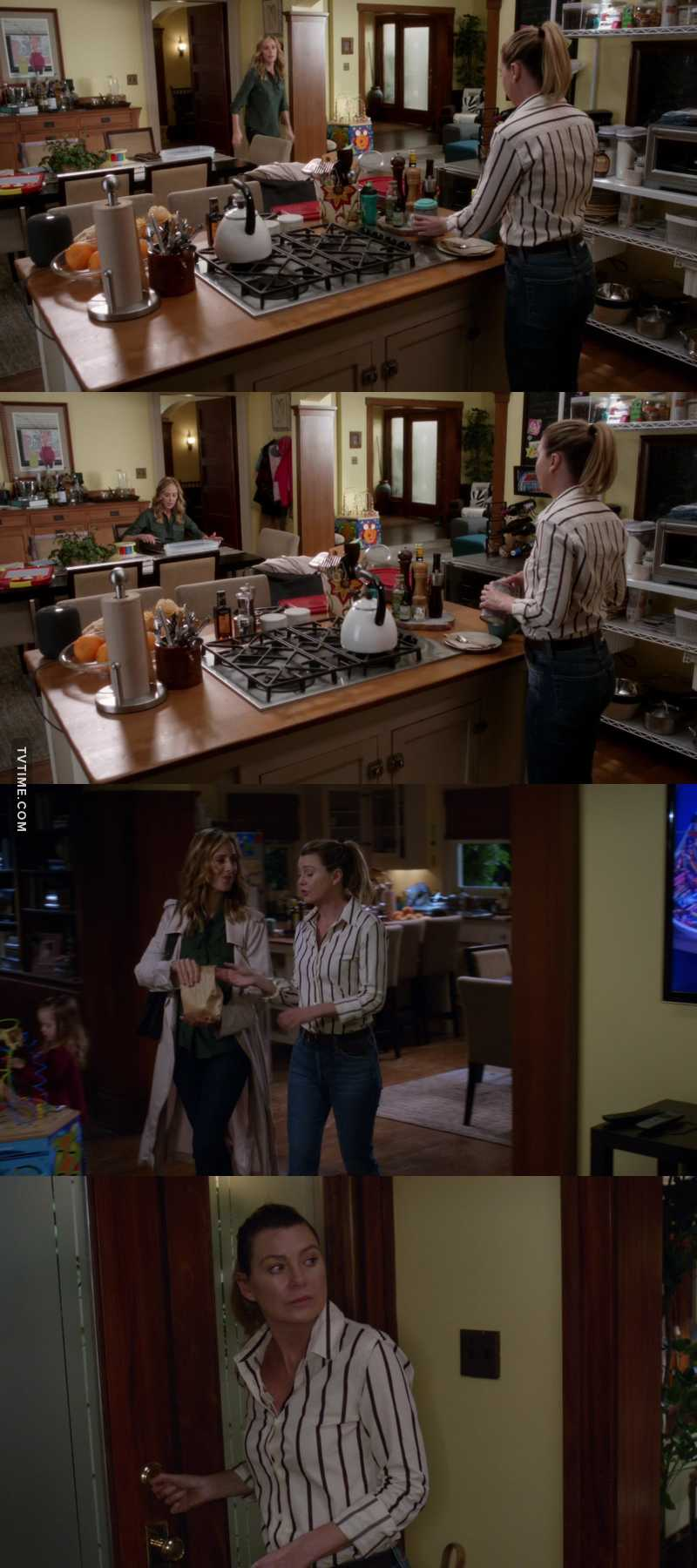 I'm the only one who loved Meredith's outfit?😍