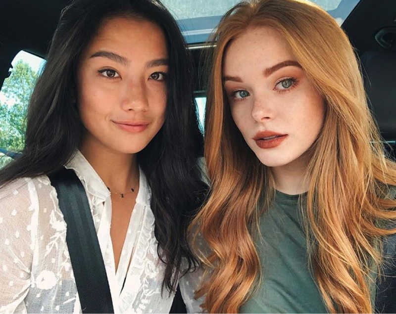 Just found this pic and OMG I knew they are gorgeous but dear lord they are astonishing beautiful! Two dolls! 🖤😍