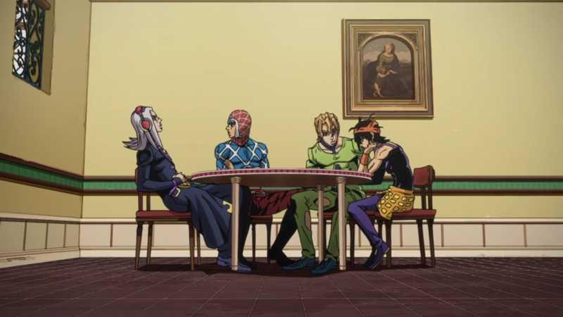 The gang assembled