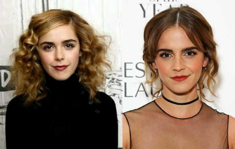 Kiernan Shipka is a lost sister of Emma Watson.