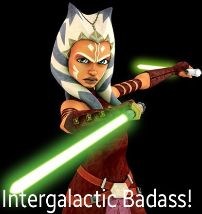 The Force is strong with this one! Show just keeps getting better.  Can hardly wait for the day Ahsoka finally meets up with her old master. it's gonna be EPIC!