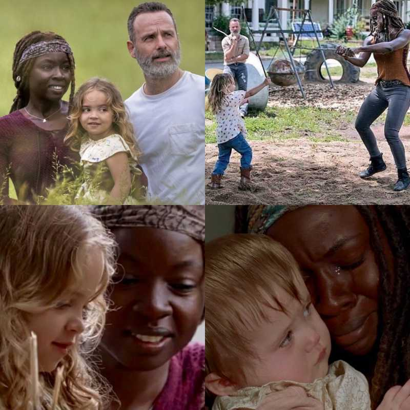 The thought of Michonne being a single mother to Judith breaks my heart 💔😞
