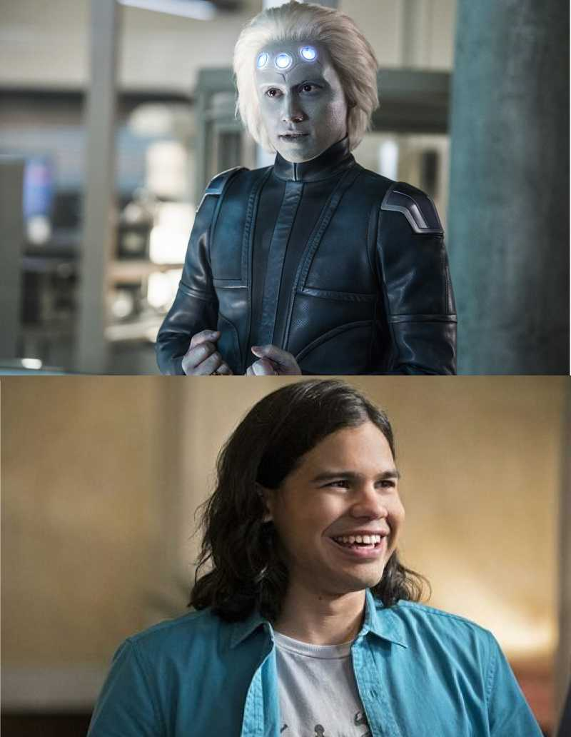 honestly, I'm excited for the what's to come this season (which, holy shit, what a great start) but I'm also hella hyped for the crossover and mostly cause I want these two to meet and be friends and be adorable together.
