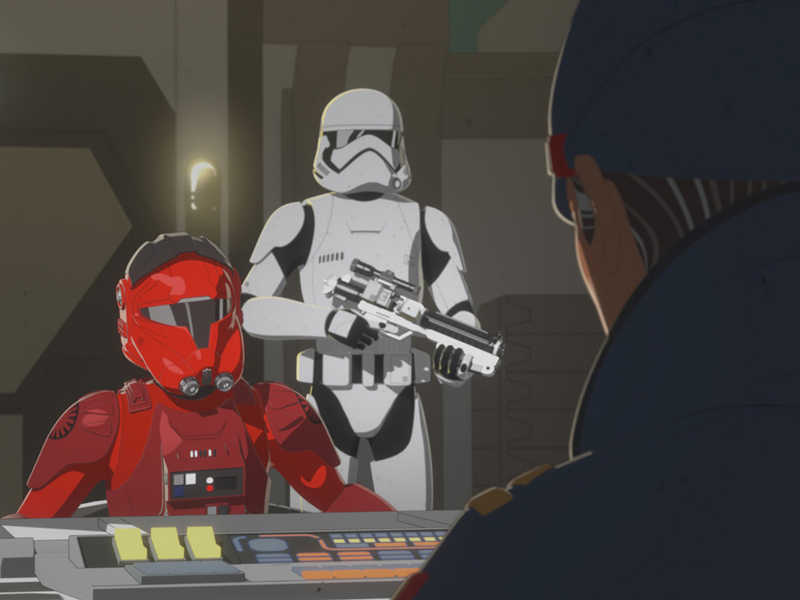 I think this show is getting better and i can't wait to see more new characters!!! It oddly also reminds me of KOTOR sometimes!?!