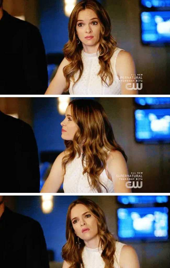 Caitlin looks gorgeous in every episode 😍