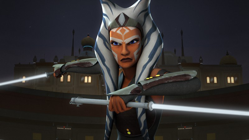 Why can't we vote for Ahsoka? :(