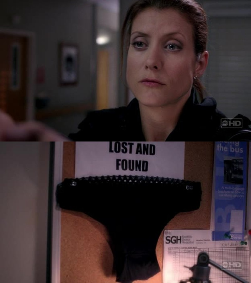 Love Derek and Meredith, but I wish I was so sassy as her