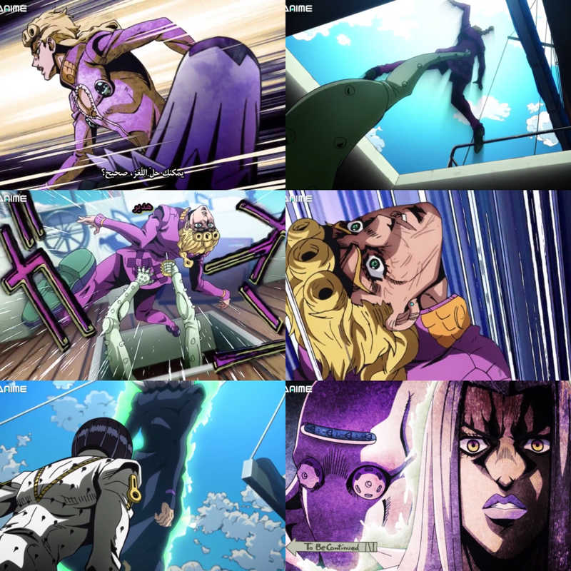 Wow I can't wait to see Abbacchio's stand 😍😍🔥🔥