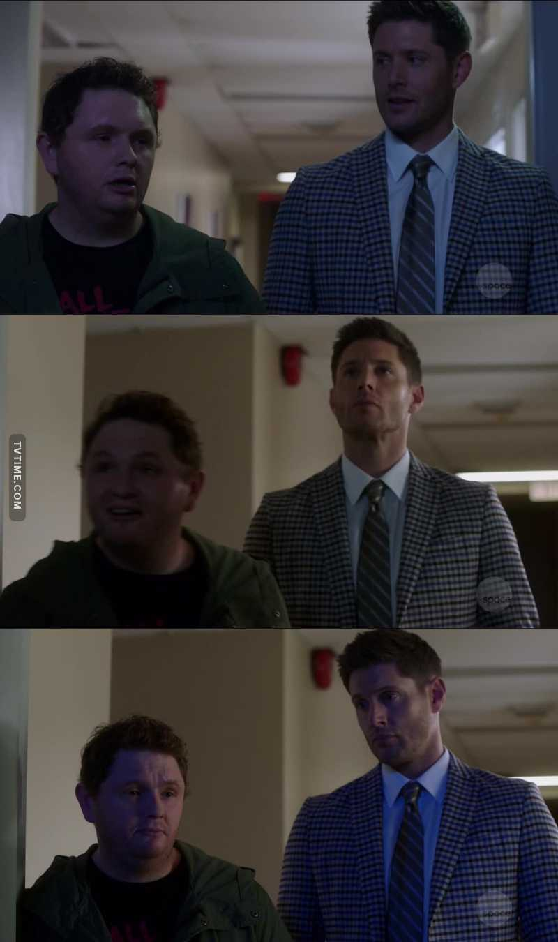 Let's appreciate Dean with that jacket for a minute