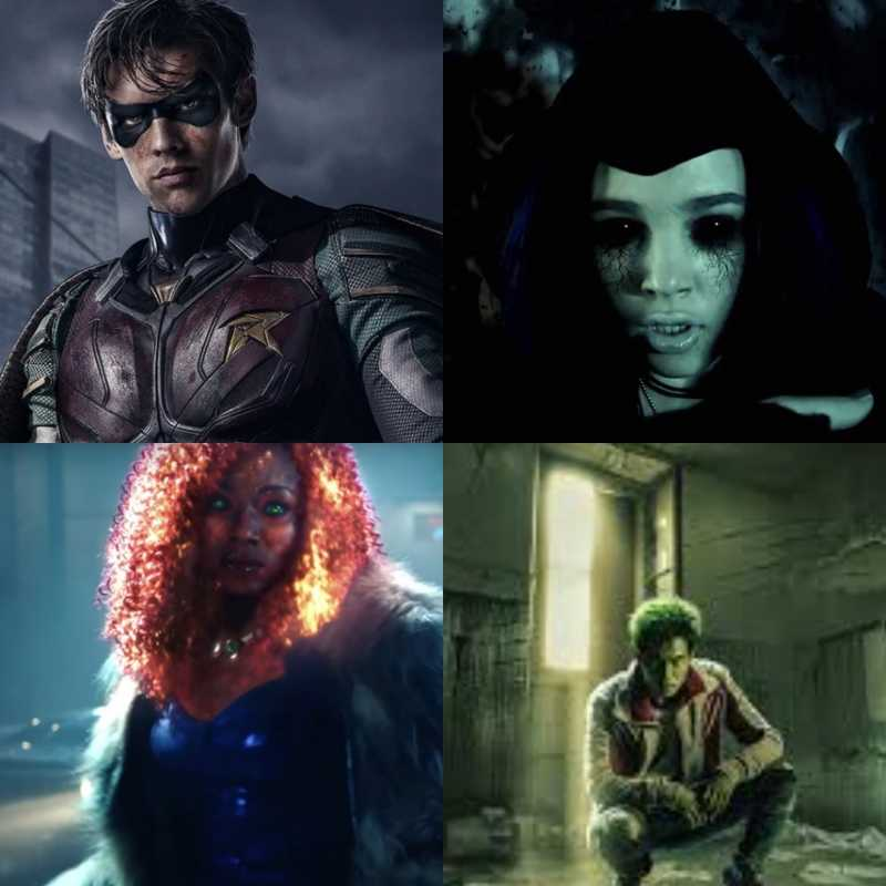 The Titans are finally together!!!
