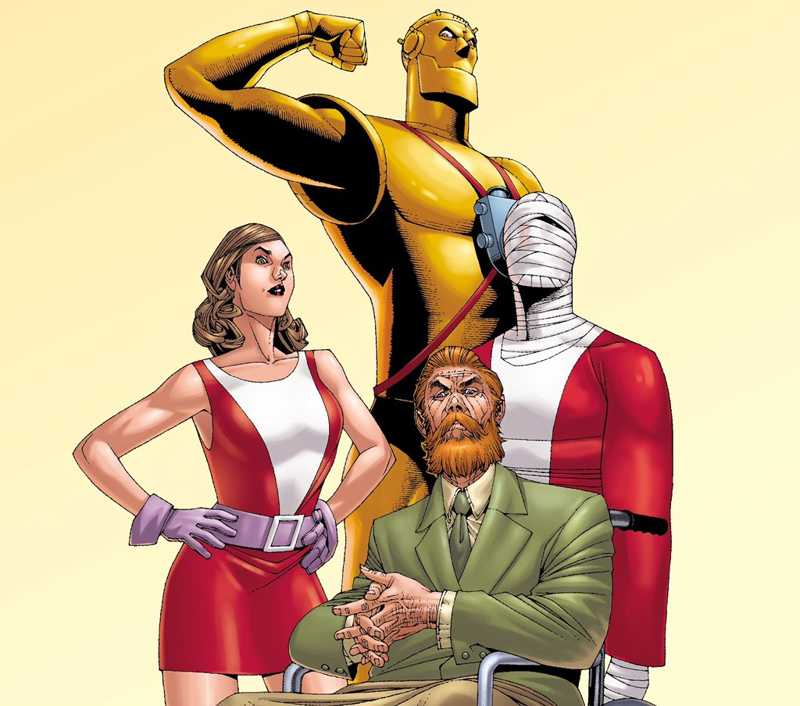 Can't wait to see Team #DoomPatrol in action.