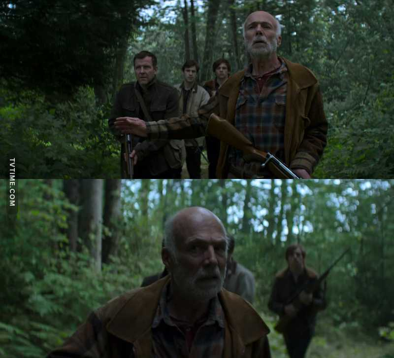 Gerard Argent, always hunting supernatural creatures