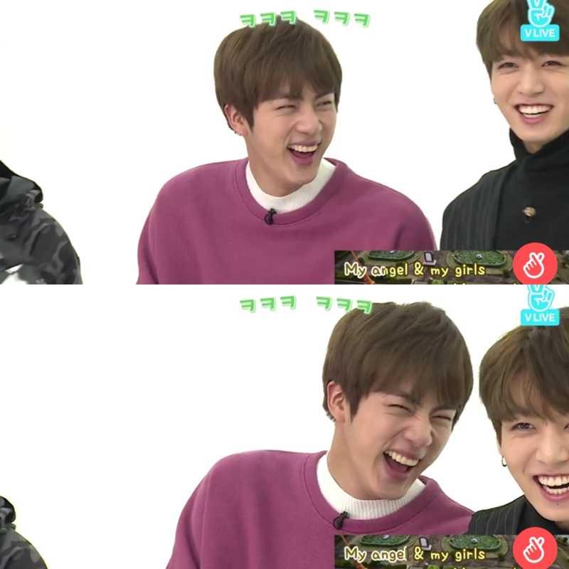 His laugh