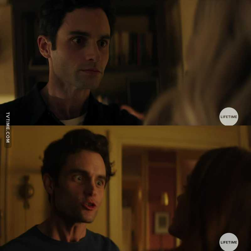 penn badgley is a great actor, these scenes have passed me very afraid fear!!