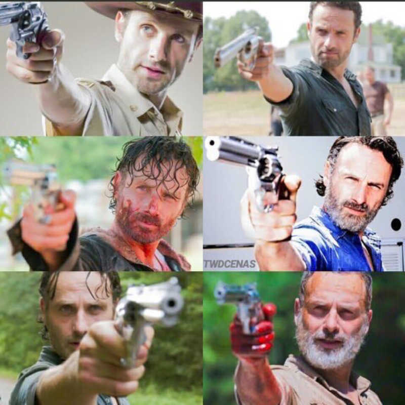 rick grimes From start to finish 😢💔 We will miss him