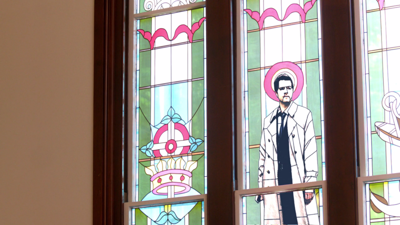 Church Makeover : Castiel style.