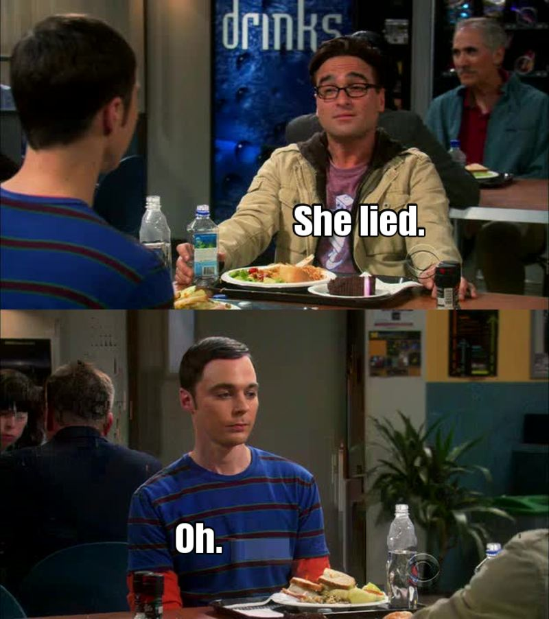 Sheldon 😂😂😂❤️