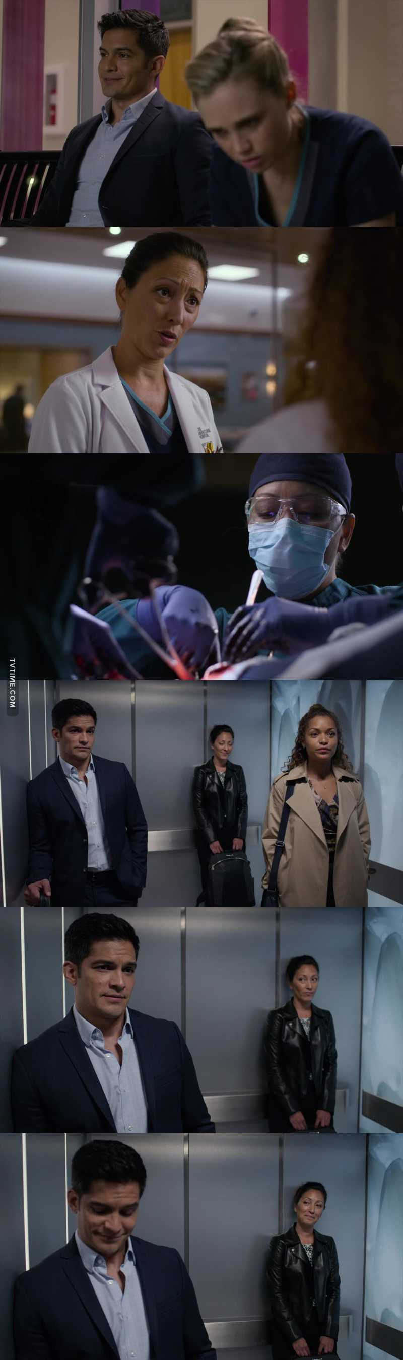 I loved finding out that they went to med school together and he's been competing with her ever since. Dr. Lim just keeps getting more interesting.