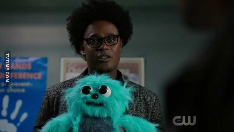 Beebo is in all CW series. ❤️